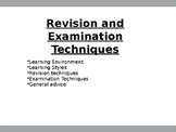 How to Revise and Revision and Exam Techniques