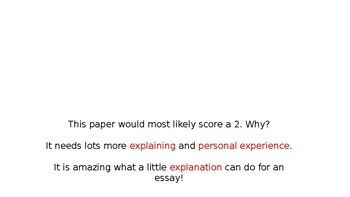 How to STRETCH an Expository Essay (4th grade STAAR Writing)