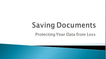 How to Safely Save documents