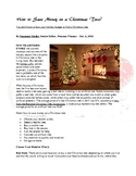 How to Save Money on a Christmas Tree?