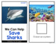 How to Save Sharks Adapted Books [ Level 1 and 2 ] | Shark Conservation Books