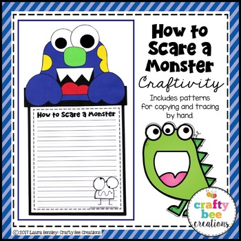 How to Scare a Monster Craftivity