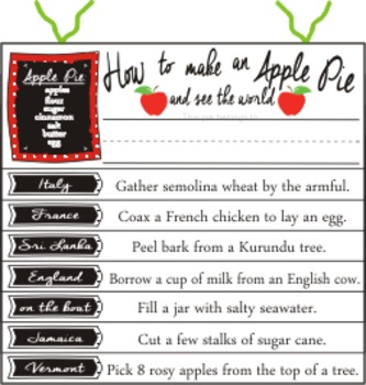 How to Make an Apple Pie and See the World geography elementary homeschool