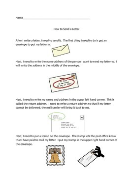 How to Send a Letter