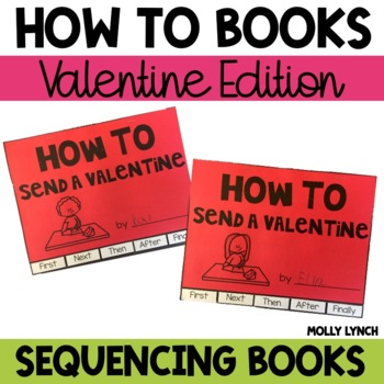 How to Send a Valentine Sequencing Flip Book