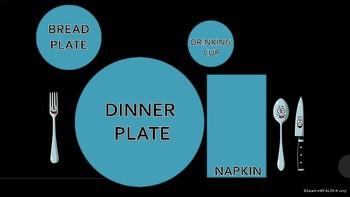 How to Set A Table FREEBIE!