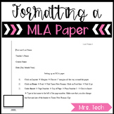 How to Format a MLA paper