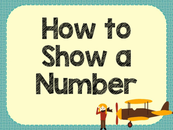 How to Show A Number Posters - Retro Pilot