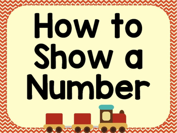 How to Show A Number Posters - Retro Transportation