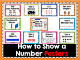 How to Show a Number Posters