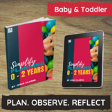 How to Simplify Planning for 0 - 2 Years Nursery, Daycare,Childcare Programs