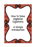 How to Solve Algebraic Equations - An Introductory Workbook