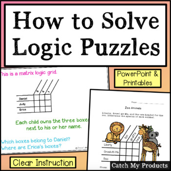 How to Solve Matrix Logic Problems (Beginner's Lesson)