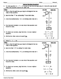 How to Solve Two-Step Equations Reference Sheet - Teaching the Lesson