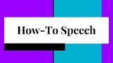 How to Speech: Outline, Topic List, Visual Aid guidelines