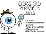 How to Spot a Liar Powerpoint