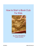 How to Start a Book Club for Kids