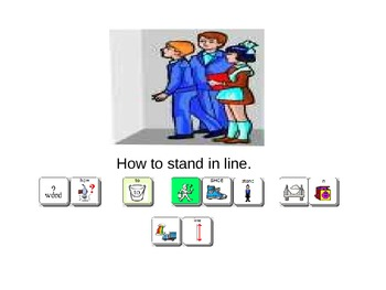 How to Stay In Line Social Story