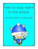 How to Stay Warm in Winter Informative Writing