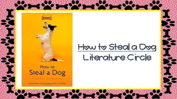 How to Steal a Dog Literature Circle Bell Ringers & Daily Tasks