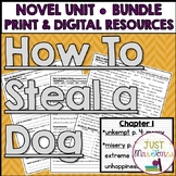 How to Steal a Dog Novel Unit