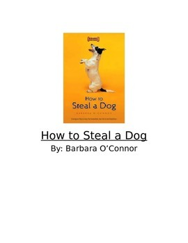 How to Steal a Dog-Vocabulary and Inferring Book Club