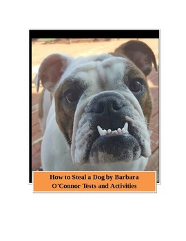 How to Steal a Dog by Barbara O'Connor Tests and Activities