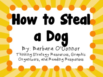 How to Steal a Dog by Barba... by Learning with Lindsey   Teachers ...
