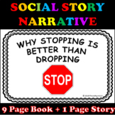 How to Stop Dropping and Flopping Social Story Narrative w