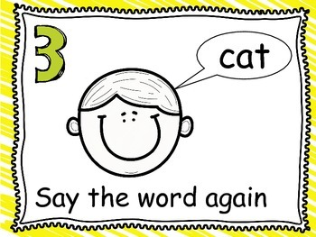 How to Stretch and Write words in Kindergarten