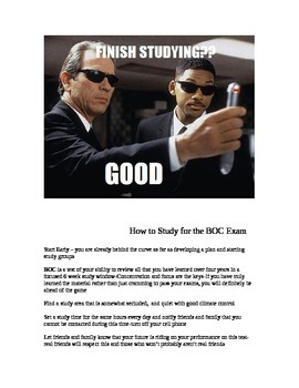 How to Study for the BOC Exam