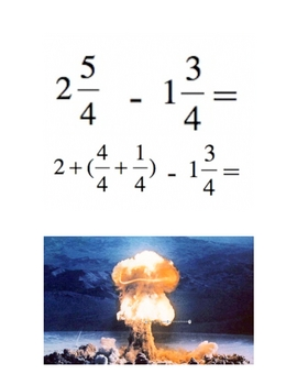 How to Subtract Mixed Numbers