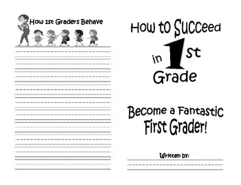 How to Succeed in First Grade End of Year Activity