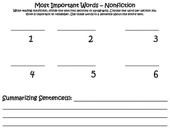 How to Summarize Nonfiction