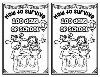How to Survive 100 Days of School Emergent Reader