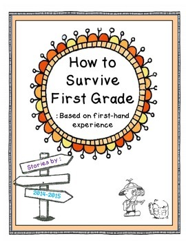 How to Survive Book - Last Days of School Class Project: with BONUS project