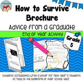How to Survive Brochure - Advice for Next Year's Students