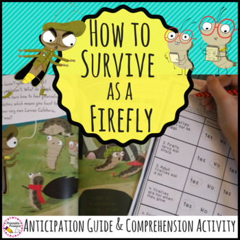 How to Survive as a Firefly Book Activities