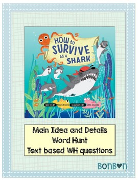 How to Survive as a Shark - Book activities