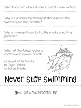 How to Survive as a Shark - Free Adaptation Flip Book