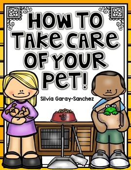 How to Take Care of Your Pet Research Booklet