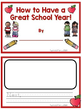 How to Have a Great School Year Writing Activities