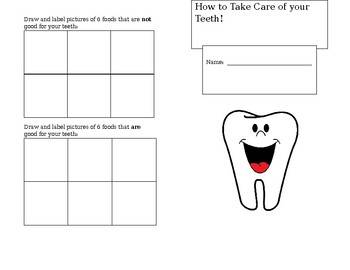 How to Take Care of your Teeth booklet