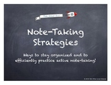How to Take Good Notes - PPT Lesson with Practice