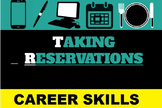 How to Take Restaurant Reservations Slideshow and Practice; Culinary Arts, FACS
