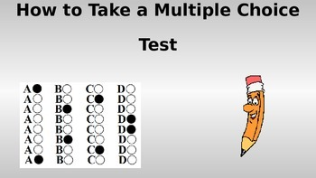 How to Take a Multiple Choice Test PowerPoint