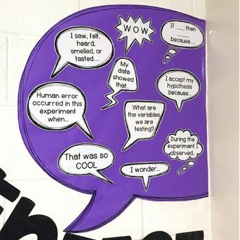 How to Talk like a Scientist Bulletin Board