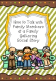 How to Talk with Family Members at a Family Gathering Soci