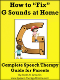 G Sounds - The Ultimate Home Speech Therapy Program