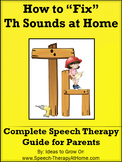 Th Sounds - Home Speech Therapy Program